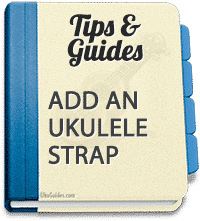 Pros and cons of different straps for ukulele on the market. No drilling necessary.