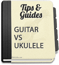 Difference between the ukulele and guitar? Ukulele vs guitar? Do you want it simple? Then go for the uke!