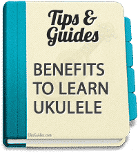 The health benefits of playing a ukulele are enormous.