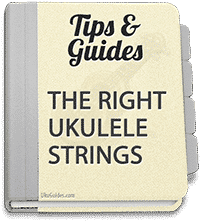 This guide describes the different types of ukulele strings and the best ukulele strings to buy.