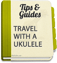 Here are some quick ways to travel with a ukulele and keep it safe!