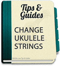 Changing ukulele strings can be a pain, but the effort it pays off!